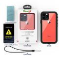 Black iPhone 11 Pro Waterproof Dirtproof Shock Proof Case - 3