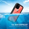 Black iPhone 11 Pro Waterproof Dirtproof Shock Proof Case - 4