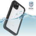 Black iPhone 11 Pro MAX Waterproof Dirtproof Shock Proof Case - 5