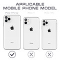 Black iPhone 11 Pro MAX Waterproof Dirtproof Shock Proof Case - 7