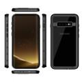 Black Samsung Galaxy S10 Waterproof Dirtproof Shock Proof Case - 2