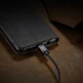 Black Galaxy A11 CaseMe Compact Flip Exceptional Wallet Case Cover - 3
