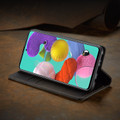 Black Galaxy A11 CaseMe Compact Flip Exceptional Wallet Case Cover - 6