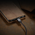Brown Galaxy A51 CaseMe Compact Flip Classy Wallet Case - 2