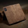 Brown Galaxy A51 CaseMe Compact Flip Classy Wallet Case - 7