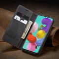Black Galaxy A51 CaseMe Compact Flip Exceptional Wallet Case Cover - 1