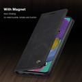 Black Galaxy A51 CaseMe Compact Flip Exceptional Wallet Case Cover - 6