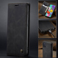 Black Galaxy A51 CaseMe Compact Flip Exceptional Wallet Case Cover - 9