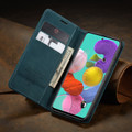 Blue Galaxy A51 CaseMe Compact Flip Soft Feel Wallet Case Cover - 1