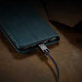 Blue Galaxy A51 CaseMe Compact Flip Soft Feel Wallet Case Cover - 5