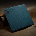 Blue Galaxy A51 CaseMe Compact Flip Soft Feel Wallet Case Cover - 8