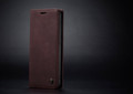 Classy Wine CaseMe Compact Flip Wallet Card Case For Galaxy A51 - 2
