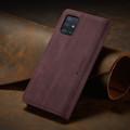 Classy Wine CaseMe Compact Flip Wallet Card Case For Galaxy A51 - 4