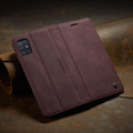 Classy Wine CaseMe Compact Flip Wallet Card Case For Galaxy A51 - 8