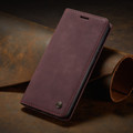 Classy Wine CaseMe Compact Flip Wallet Card Case For Galaxy A51 - 9