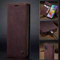 Classy Wine CaseMe Compact Flip Wallet Card Case For Galaxy A51 - 10