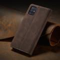 Coffee CaseMe Classy Compact Flip Wallet Card Case For Galaxy A51 - 3