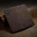 Coffee CaseMe Classy Compact Flip Wallet Card Case For Galaxy A51 - 5