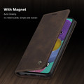 Coffee CaseMe Classy Compact Flip Wallet Card Case For Galaxy A51 - 6
