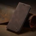 Coffee CaseMe Classy Compact Flip Wallet Card Case For Galaxy A51 - 10
