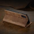 Brown Galaxy A71 CaseMe Compact Flip Classy Wallet Case - 4