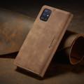 Brown Galaxy A71 CaseMe Compact Flip Classy Wallet Case - 5
