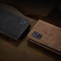 Brown Galaxy A71 CaseMe Compact Flip Classy Wallet Case - 7