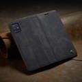 Black Galaxy A71 CaseMe Compact Flip Exceptional Wallet Case Cover - 4