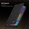 Black Galaxy A71 CaseMe Compact Flip Exceptional Wallet Case Cover - 6