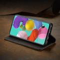 Black Galaxy A71 CaseMe Compact Flip Exceptional Wallet Case Cover - 7