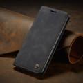 Black Galaxy A71 CaseMe Compact Flip Exceptional Wallet Case Cover - 9