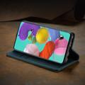 Blue Galaxy A71 CaseMe Compact Flip Soft Feel Wallet Case Cover - 5