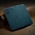Blue Galaxy A71 CaseMe Compact Flip Soft Feel Wallet Case Cover - 6
