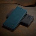Blue Galaxy A71 CaseMe Compact Flip Soft Feel Wallet Case Cover - 7