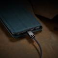 Blue Galaxy A71 CaseMe Compact Flip Soft Feel Wallet Case Cover - 8
