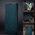 Blue Galaxy A71 CaseMe Compact Flip Soft Feel Wallet Case Cover - 9