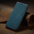 Blue Galaxy A71 CaseMe Compact Flip Soft Feel Wallet Case Cover - 10