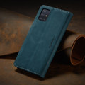 Blue Galaxy A71 CaseMe Compact Flip Soft Feel Wallet Case Cover - 11