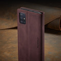 Classy Wine CaseMe Compact Flip Wallet Card Case For Galaxy A71 - 10