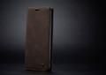 Coffee CaseMe Classy Compact Flip Wallet Card Case For Galaxy A71 - 2