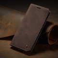 Coffee CaseMe Classy Compact Flip Wallet Card Case For Galaxy A71 - 10
