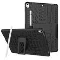 "Black Apple iPad Air 3 10.5"" Rugged Defender Hybrid Kickstand Case - 1"
