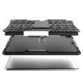 "Black Apple iPad Air 3 10.5"" Rugged Defender Hybrid Kickstand Case - 2"