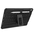 "Black Apple iPad Air 3 10.5"" Rugged Defender Hybrid Kickstand Case - 3"