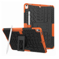 "Orange Apple iPad Air 3 10.5"" Tough Defender Kickstand Case - 1"