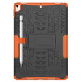 "Orange Apple iPad Air 3 10.5"" Tough Defender Kickstand Case - 2"