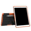 "Orange Apple iPad Air 3 10.5"" Tough Defender Kickstand Case - 3"