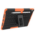 "Orange Apple iPad Air 3 10.5"" Tough Defender Kickstand Case - 5"