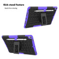 "Purple Shock Proof Kickstand Case Cover For Apple iPad Air 3 10.5"" - 2"