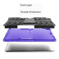 "Purple Shock Proof Kickstand Case Cover For Apple iPad Air 3 10.5"" - 3"